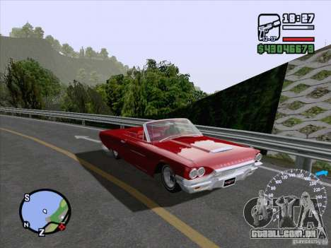 ENB Series v1.5 Realistic para GTA San Andreas por diante tela