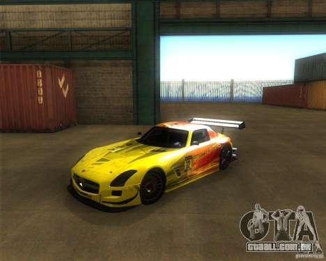 Mercedes SLS AMG - SpeedHunters Edition para GTA San Andreas