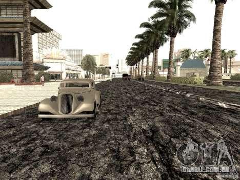 New roads in Las Venturas para GTA San Andreas