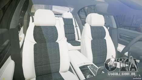 BMW 750Li Sedan ASANTI para GTA 4 vista de volta