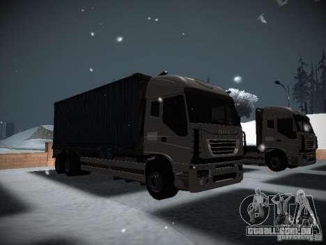 Iveco Stralis Long Truck para GTA San Andreas esquerda vista