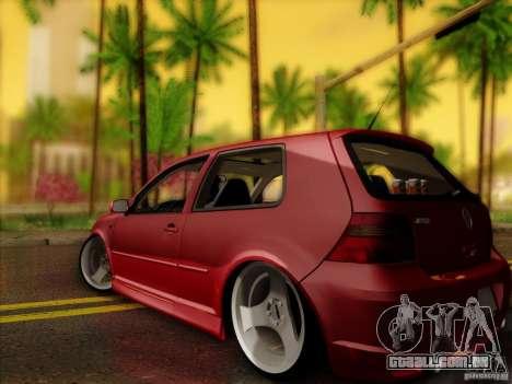 Volkswagen Golf Street para GTA San Andreas esquerda vista