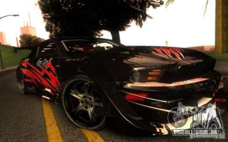 Ford Mustang Shelby GT500 V1.0 para GTA San Andreas