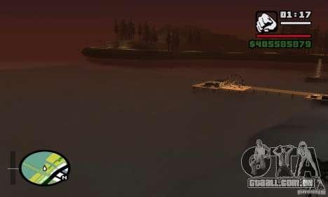 ENBSeries 0,075 (só água) para GTA San Andreas sétima tela