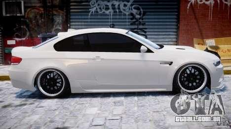 BMW M3 Hamann E92 para GTA 4 interior