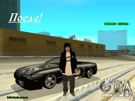 Roupas com Victor Coem para GTA San Andreas segunda tela