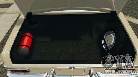Mercedes-Benz 300Sel 1971 v1.0 para GTA 4 interior