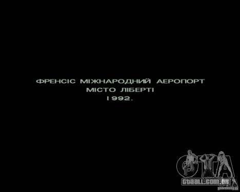 Ukraïnizator 2.0 para GTA San Andreas terceira tela