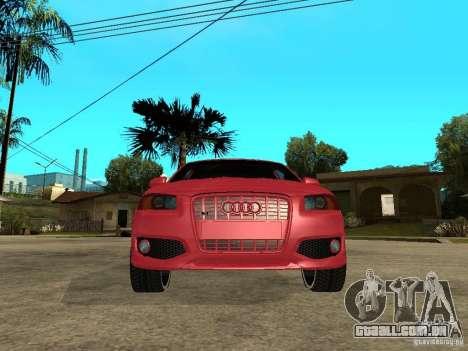 Audi S3 2006 Juiced 2 para GTA San Andreas vista direita