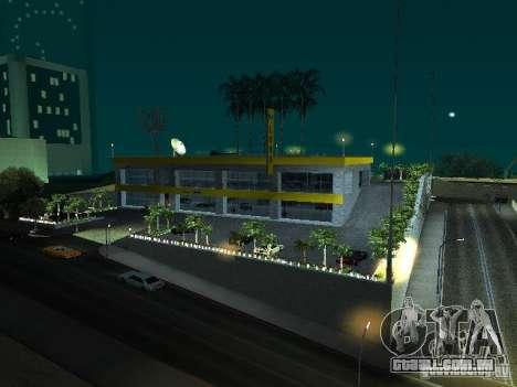 Novo showroom em San Fierro para GTA San Andreas
