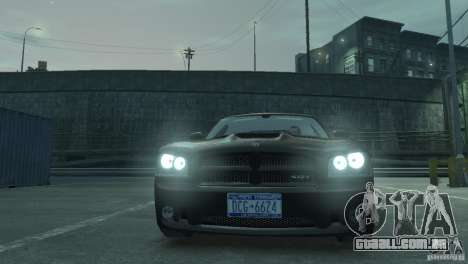 Dodge Charger 2007 SRT8 para GTA 4 vista direita