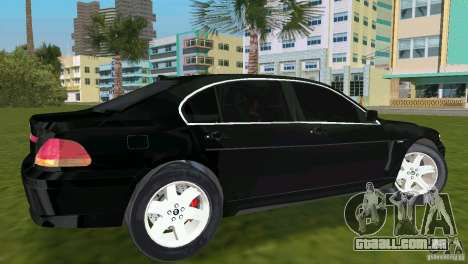 BMW 7-Series 2002 para GTA Vice City
