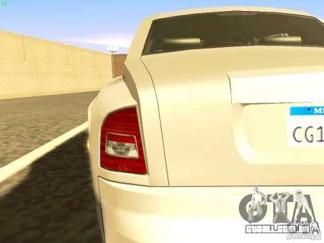 Rolls-Royce Phantom V16 para GTA San Andreas vista superior
