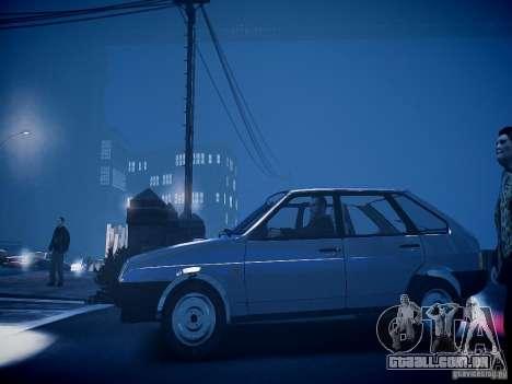 VAZ 21093i para GTA 4 traseira esquerda vista