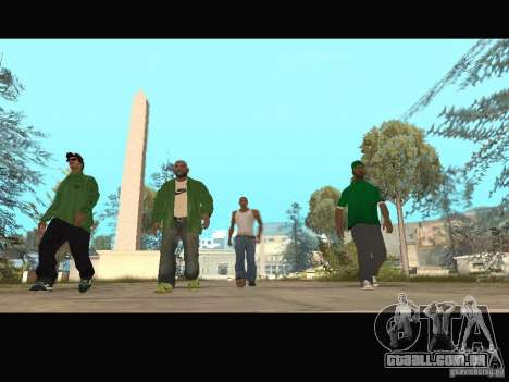 New Sweet, Smoke and Ryder v1.0 para GTA San Andreas décimo tela