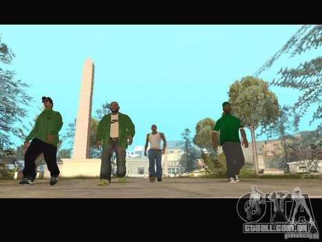 New Sweet, Smoke and Ryder v1.0 para GTA San Andreas décimo tela