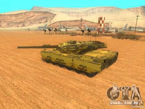 Rhino para GTA San Andreas esquerda vista