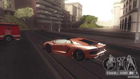 2013 Lamborghini Aventador LP700-4 Roadstar para GTA San Andreas vista direita
