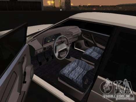 ВАЗ 2114 Bully para GTA San Andreas traseira esquerda vista