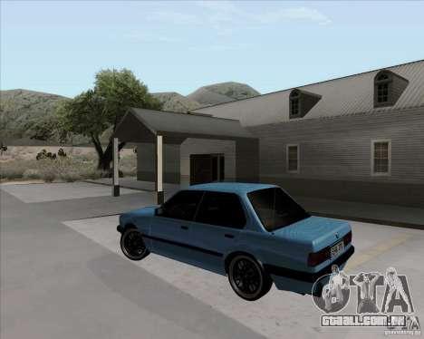 BMW M3 E30 323i street para GTA San Andreas esquerda vista