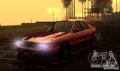 FEROCI VIP para GTA San Andreas vista traseira