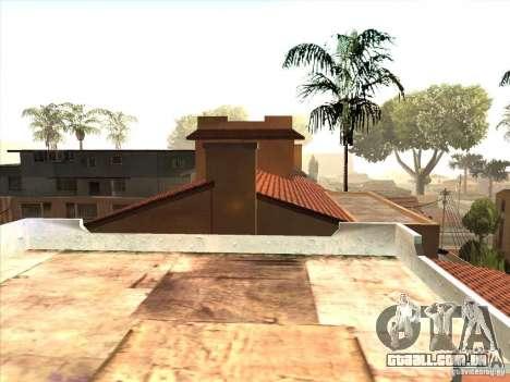 Mapa de Parkour e bmx para GTA San Andreas quinto tela
