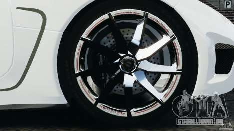 Koenigsegg Agera R v2.0 [EPM] para GTA 4 vista lateral