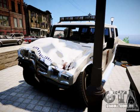 Russian NOOSE Patriot para GTA 4 vista direita