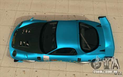 Mazda RX-7 911 Trust para GTA San Andreas vista direita