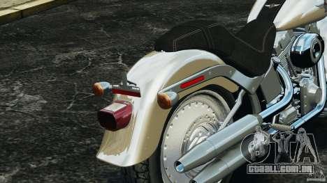 Harley Davidson Softail Fat Boy 2013 v1.0 para GTA 4 vista inferior