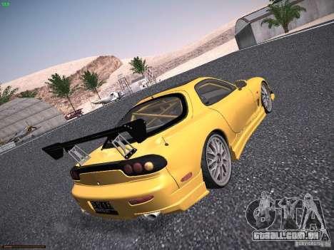 Mazda RX-7 FD3S C-West Custom para GTA San Andreas vista direita