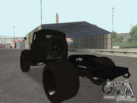 GAZ 51P para GTA San Andreas esquerda vista