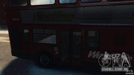 London City Bus para GTA 4 vista direita