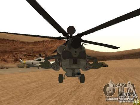 MI 28 Havok para vista lateral GTA San Andreas