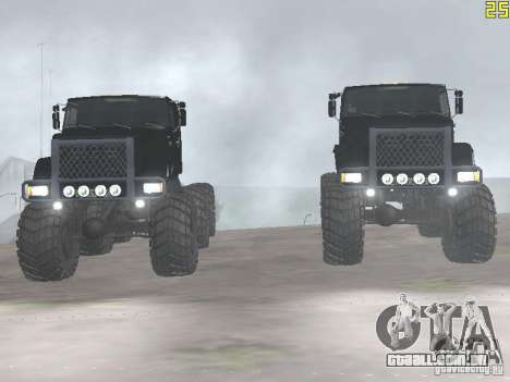 ZIL 497200 para GTA San Andreas vista direita