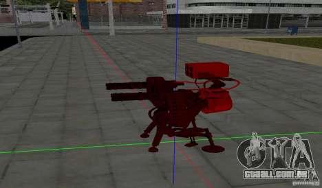 Torreta de Team Fortess 2 para GTA San Andreas segunda tela