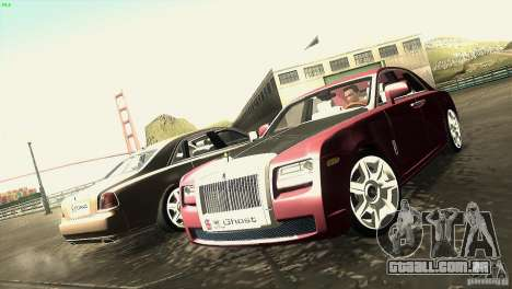 Rolls-Royce Ghost 2010 V1.0 para GTA San Andreas vista interior