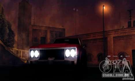 RAGE ENB para GTA San Andreas terceira tela