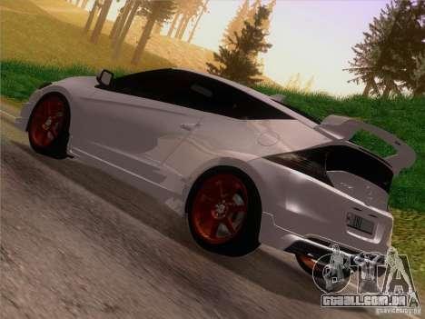 Honda CR-Z Mugen 2011 V2.0 para GTA San Andreas esquerda vista