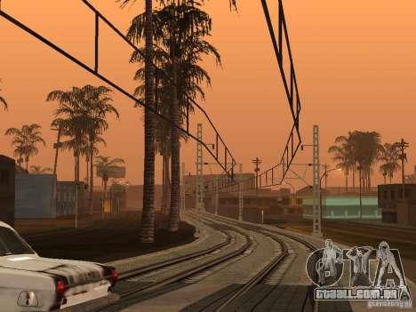 Linha ferroviária de alta velocidade para GTA San Andreas segunda tela