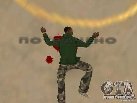 Saltar o Jet pack para GTA San Andreas quinto tela