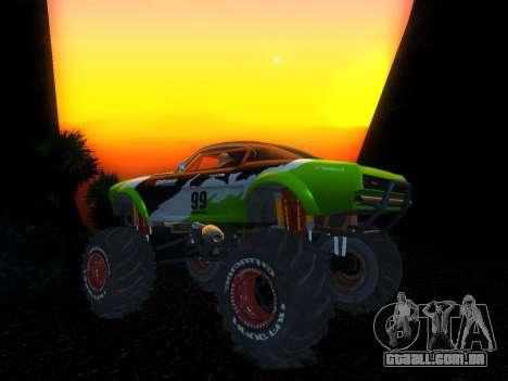 Fire Ball para GTA San Andreas traseira esquerda vista