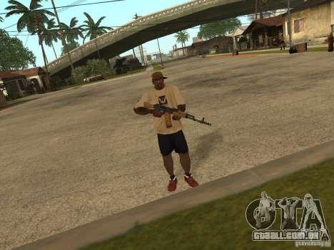 AK-74 de Arma II para GTA San Andreas segunda tela
