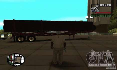 Semi artict2 para GTA San Andreas