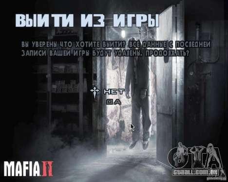 Telas de carregamento de Mafia 2 para GTA San Andreas segunda tela