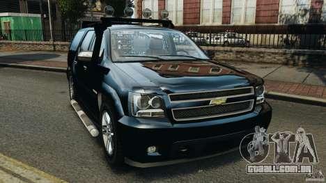 Chevrolet Tahoe LCPD SWAT para GTA 4