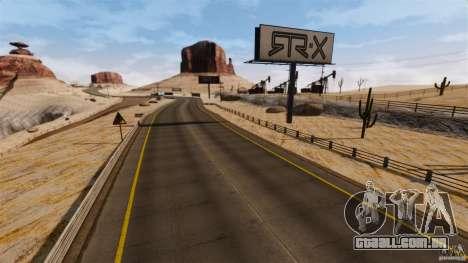 Ambush Canyon para GTA 4 quinto tela