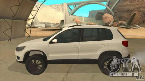 Volkswagen Tiguan 2012 v2.0 para GTA San Andreas esquerda vista