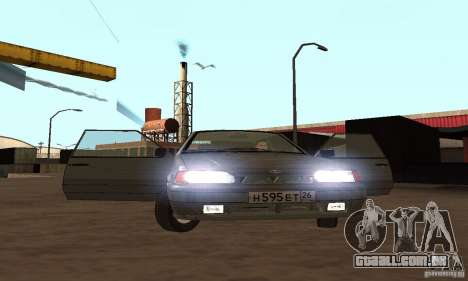 2113 Vaz Suite v. 1.0 para GTA San Andreas vista superior
