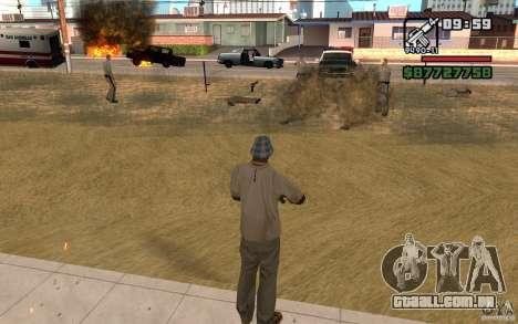 A ameaça de para GTA San Andreas